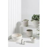 ZAKKIA | Podium Pot Large White | Decor