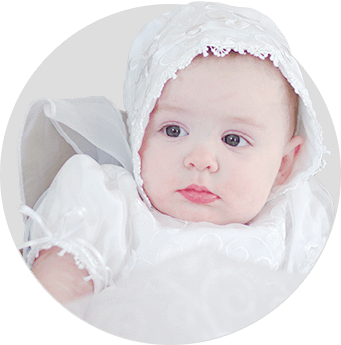 Christening Gowns & Baptism Apparel - Baptism Robes, Stoles, Towels