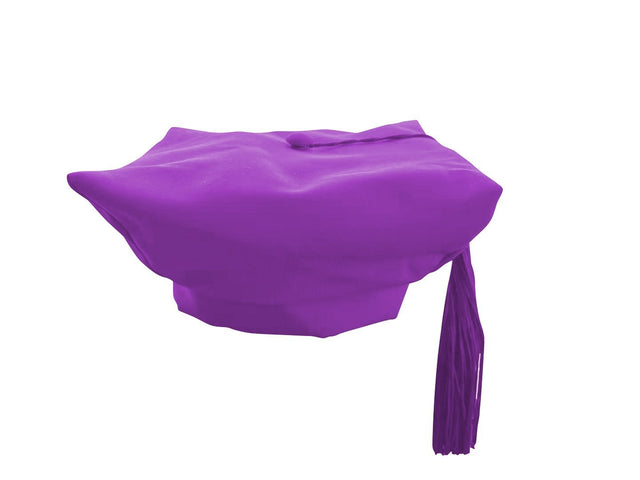 Purple Choir Cap - Churchings