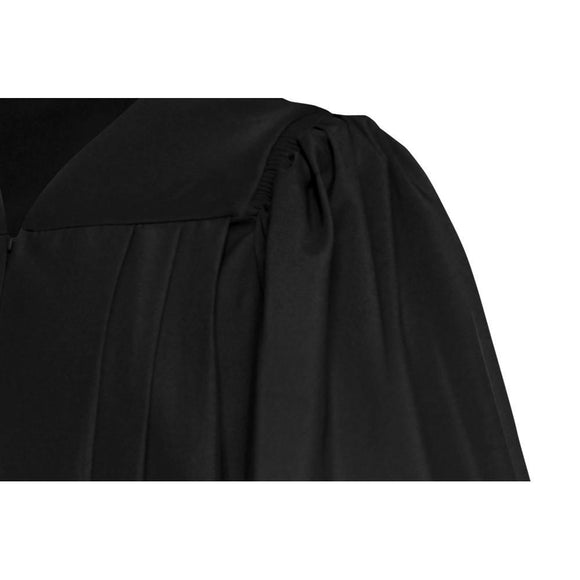 Deluxe Black Choir Robe - Churchings