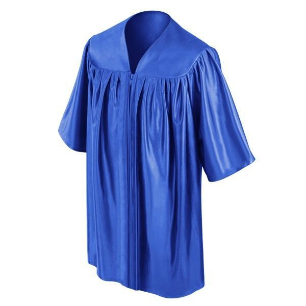 Child's Royal Blue Choir Robe - Churchings