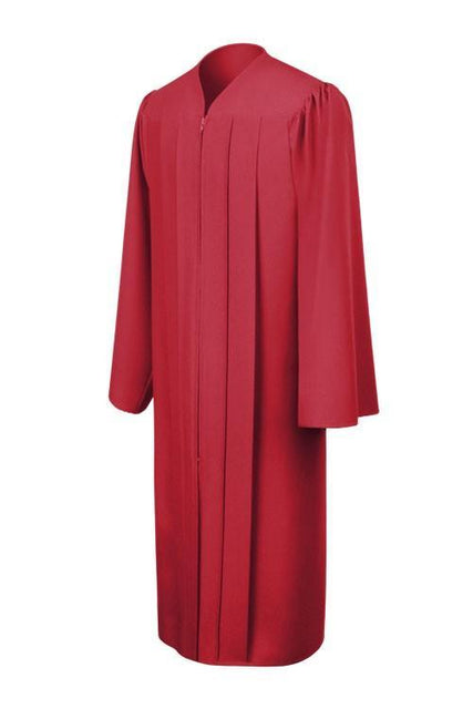 Matte Red Choir Robe - Churchings