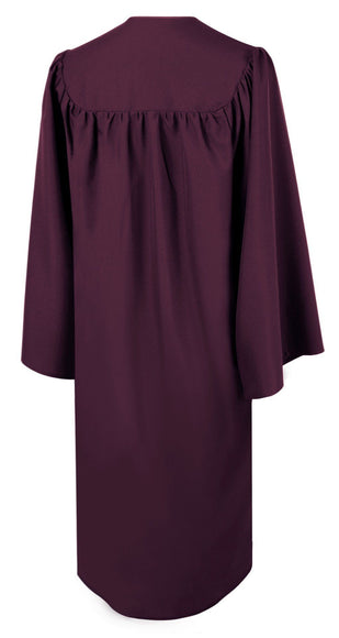 Matte Maroon Choir Robe - Churchings