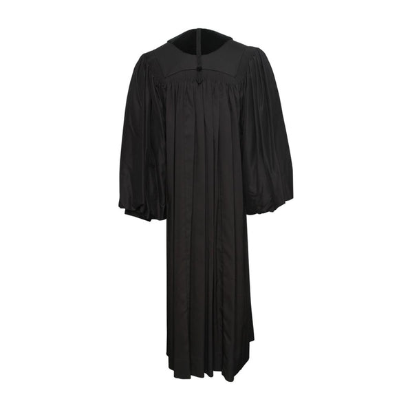 Front Velvet Geneva Pulpit Robe - Churchings