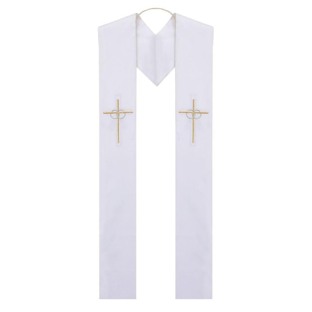Reversible Baptism to Wedding Stole - Churchings