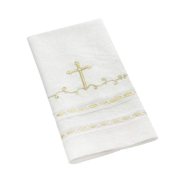 Jubilee Baptismal Linen Towel - Churchings