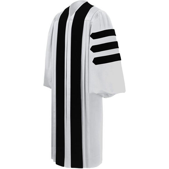 Deluxe White Clergy Robe - Churchings