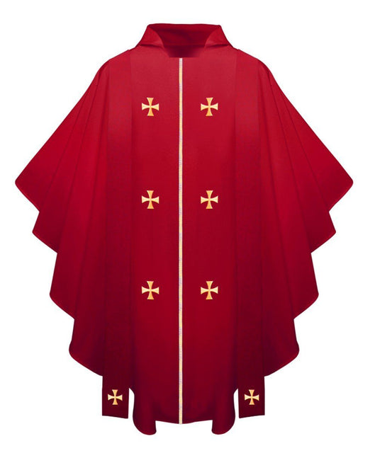 Red Chasuble - Churchings