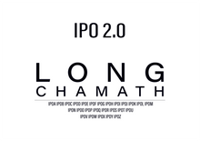 Load image into Gallery viewer, Long Chamath IPO 2.0 T-Shirt