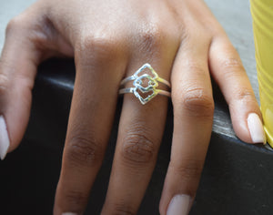 Elegant Drop Ring