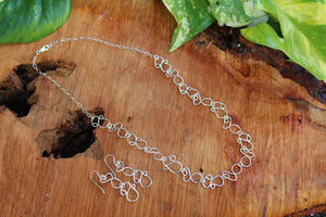 Small Infinity  Necklace Set