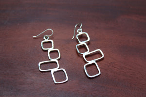 Multiple Square Earrings