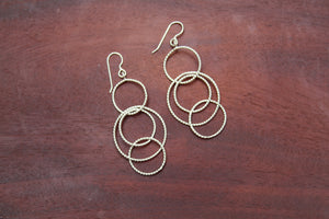 Multi-Circle Earrings