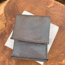 "Load image into Gallery viewer, Genuine Leather So Soft Evening Bag Wallet in ""Shimmer"""