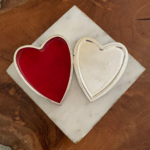 Heart Saying Metal Trinket Box - Be Brave