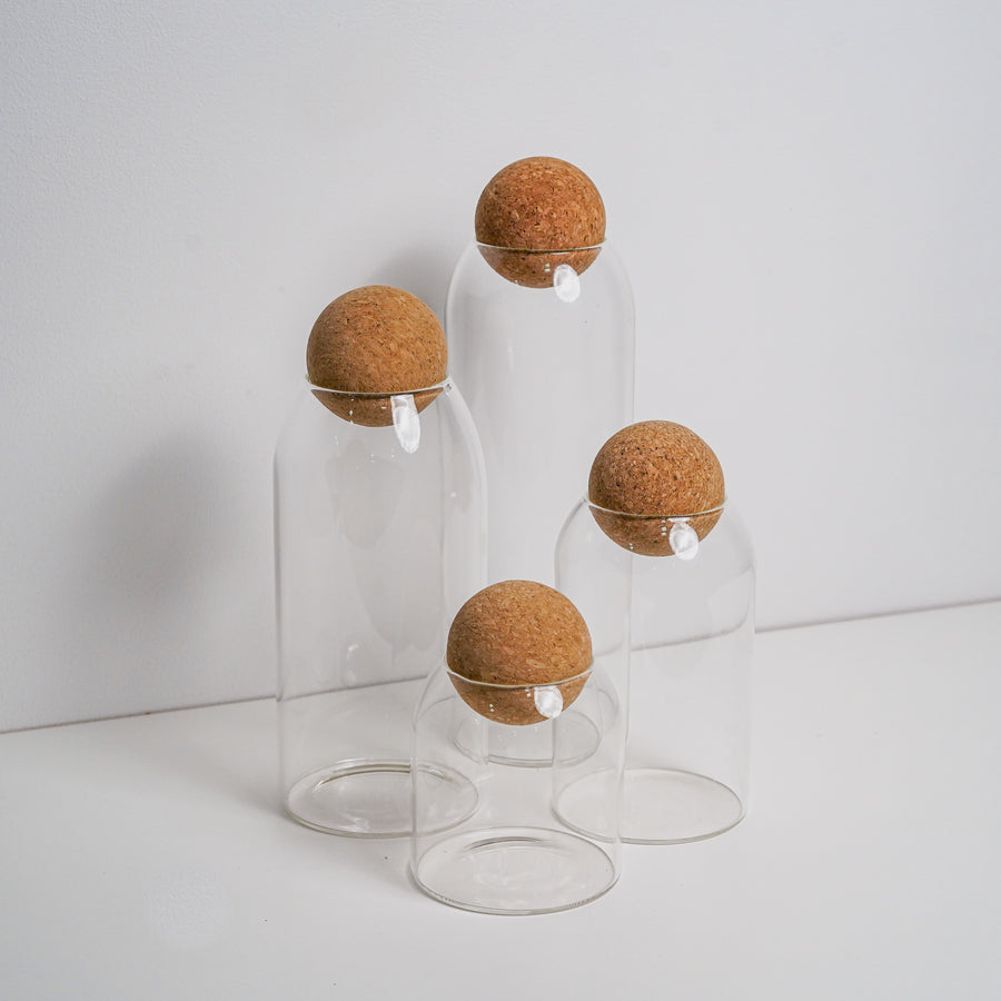 ball cork container