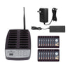 SU-66 1 Transmitter + 16 Pagers Wireless Pager System Restaurant Queuing Calling System Transmitter 100-240V For Restaurant