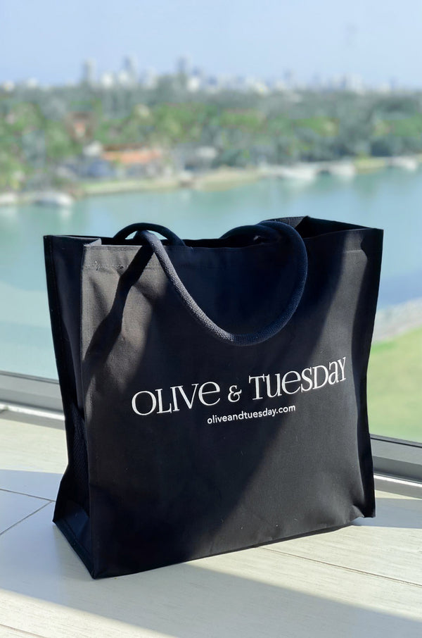 Olive and Tuesday The Tote Black