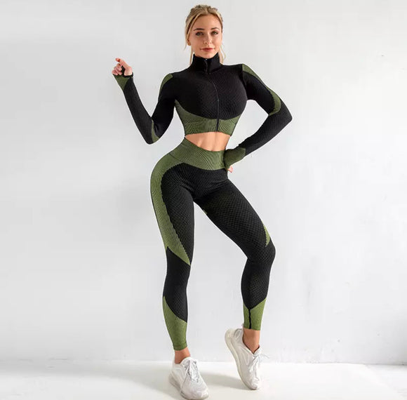 Kayla Seamless Workout Gym Wear