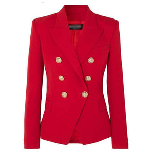 Luna Fiery Red Blazer