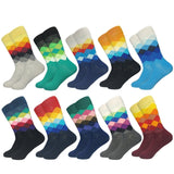 Men's Colourful 5 Pair Socks