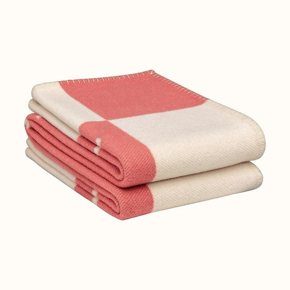 H Cashmere/Wool Blanket Super Soft Wool