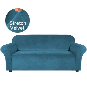 Elevate High Grade Velvet Stretch Sofa Cover  1/2/3/4 Seater