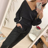 Kabole 2 Piece Knitted Tracksuits