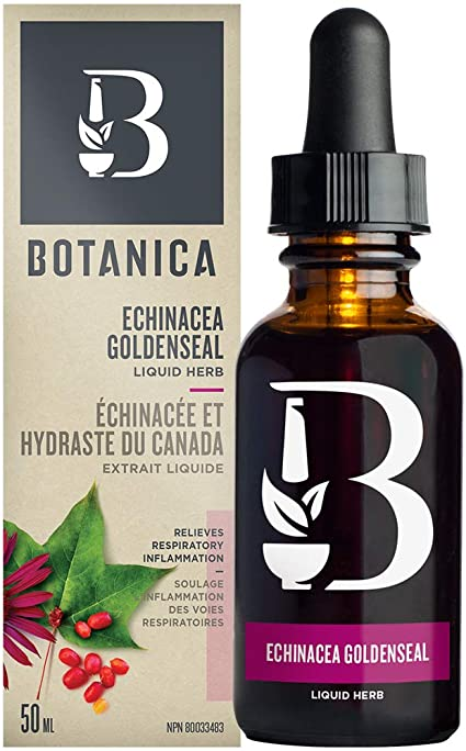 BOTANICA ECHINACEA GOLDENSEAL LIQUID 50ML