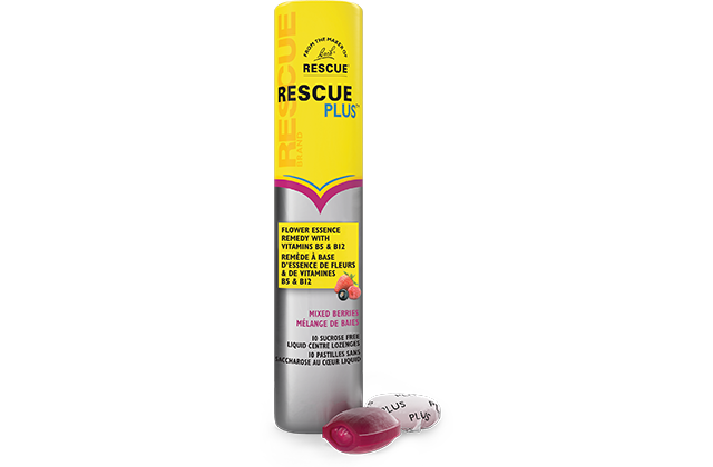RESCUE PLUS LIQUID CENTRE LOZ PLUS B5 B12