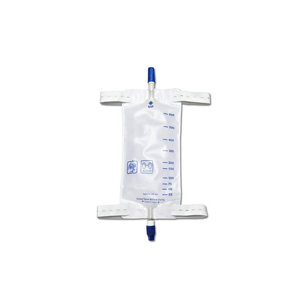DISPOSAMED 600ML MEDIUM LEG BAG
