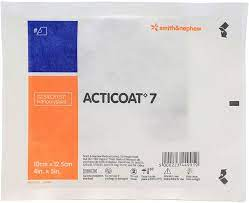 ACTICOAT 7 ANTIMICROBIAL DRESSING, SIZE 10CM X 12.5CM