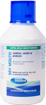 BIOXTRA DRY MOUTH ULTRA MILD MOUTHRINSE 250ML