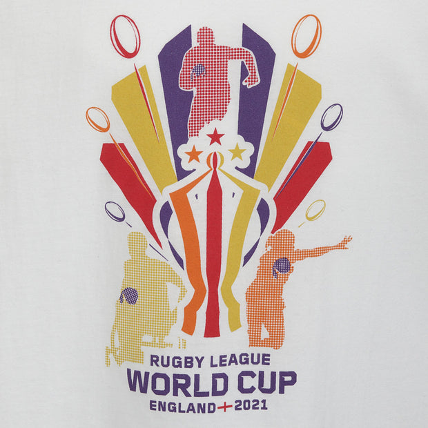 Kids Three Tournament T-Shirt - Rugby League World Cup 2021 Shop