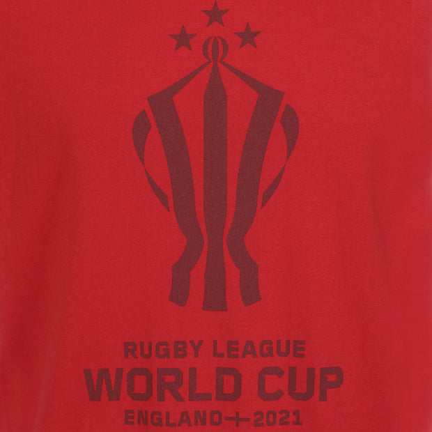 Trophy T-Shirt - Rugby League World Cup 2021 Shop