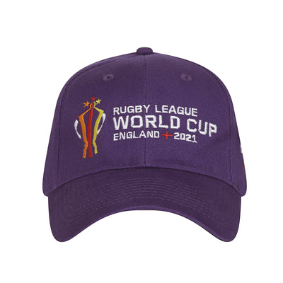 Purple Tournament Cap - Rugby League World Cup 2021 Shop
