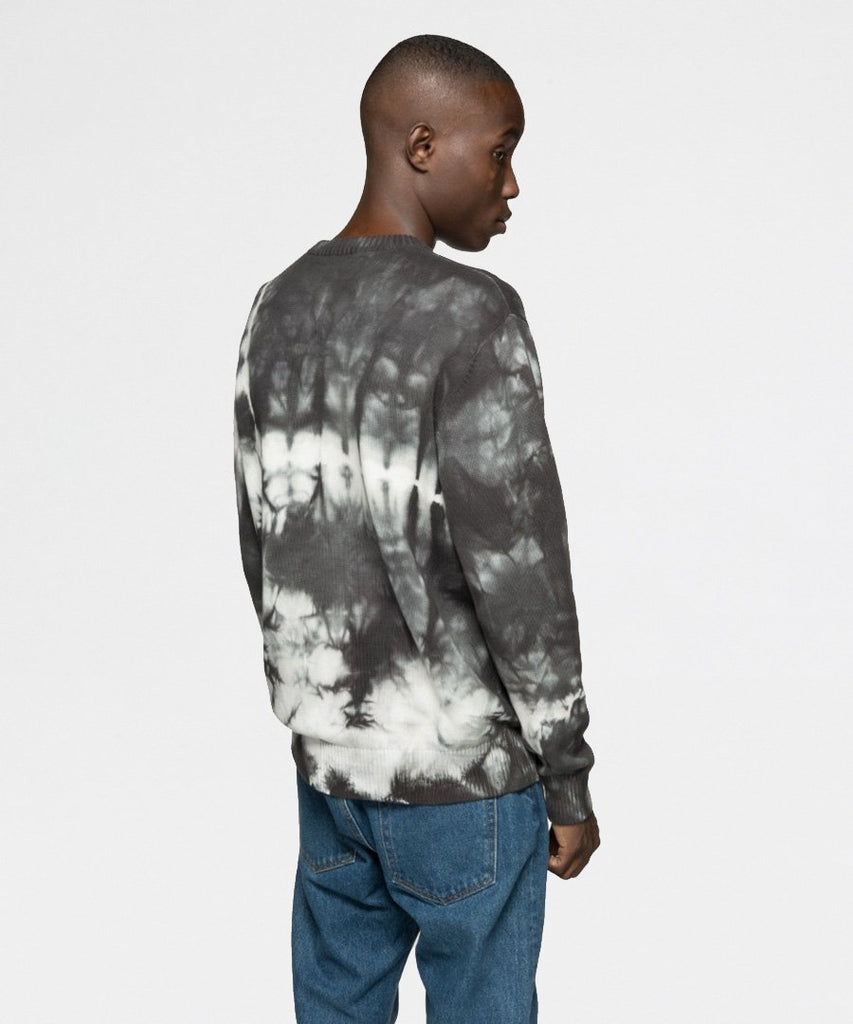 Bleached Dye Sweater Black from Stussy | Trøjer | Packyard