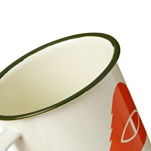 Slumber Enamel Mug - Off White from Poler | UDSOLGT | Packyard
