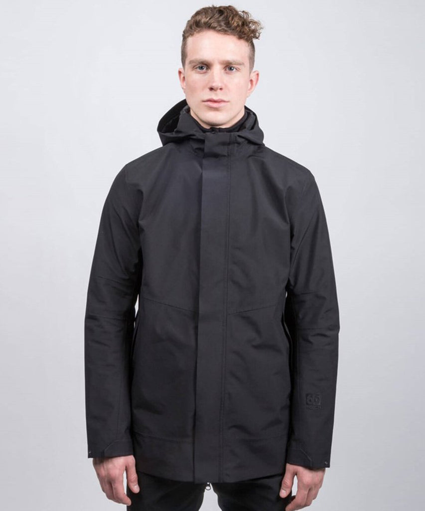 Esja Gore-Tex Coat Black from 66 North | jackets | Packyard