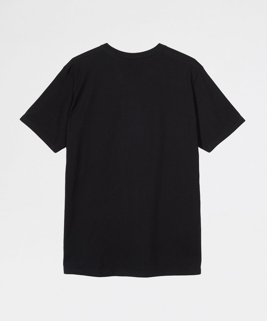 City Stack Tee Black from Stussy | t-shirts | Packyard