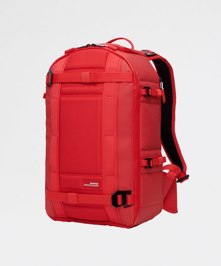 The Backpack Pro Scarlet Red from Douchebags | Tasker Backpack | Packyard