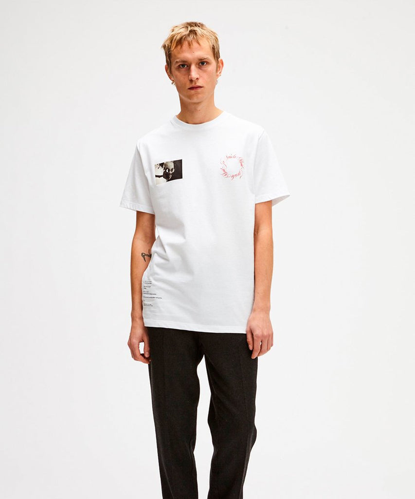 Anders T-shirt White from Soulland | t-shirts | Packyard