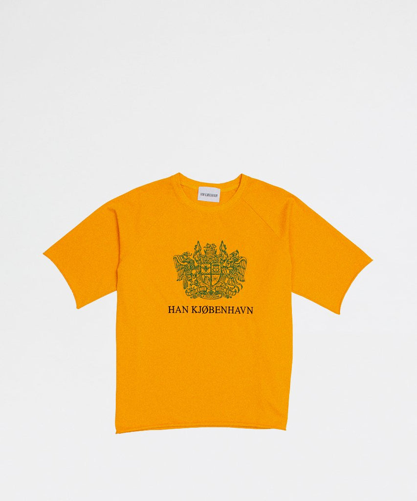 Capsule Tee Orange from Han Kjøbenhavn | t-shirts | Packyard