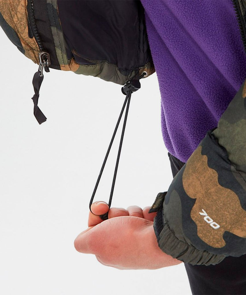 M 1996 Retro Nuptse Jacket Olive Camo from The North Face | UDSOLGT | Packyard