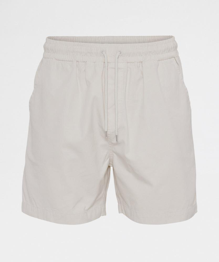 Organic Twill Shorts Ivory White from Colorful Standard | Shorts | Packyard