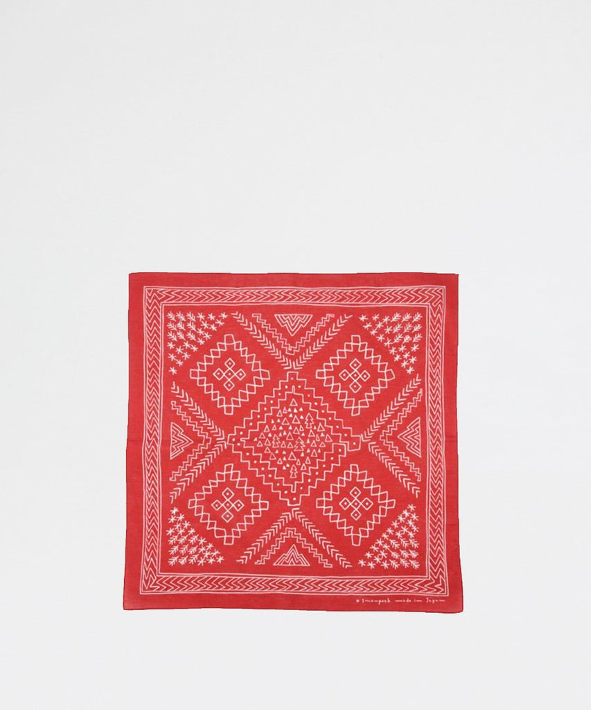 Naosobi Bandana Red from Snow Peak | Outdoor Gear | Packyard