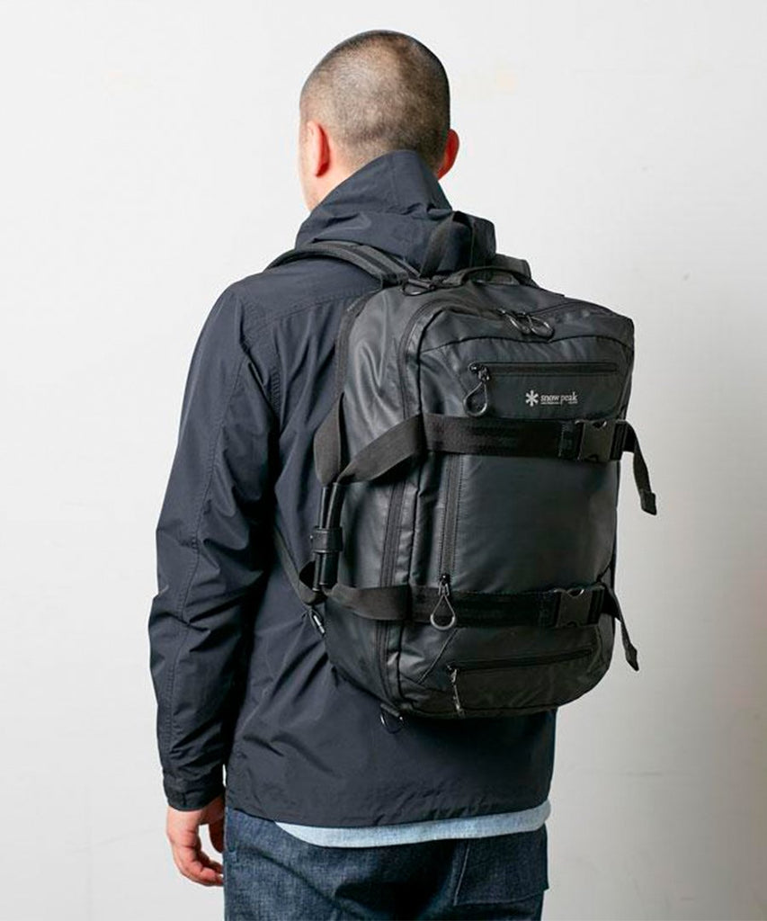 3 Way Business Bag Black from Snow Peak | Tasker | Packyard