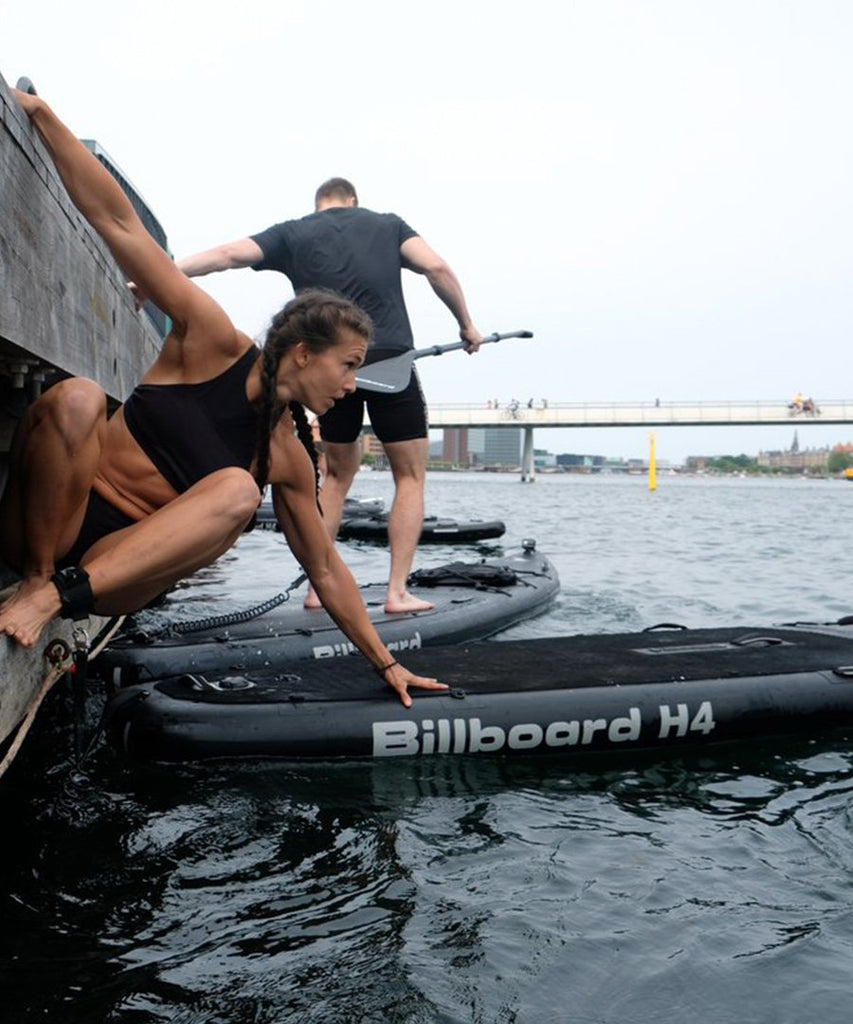 H4 Black Sup Carbon Kit from Billboard | SUP accessories | Packyard