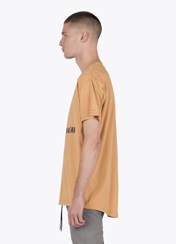 Teamwear Rugger Tee Saffron from Zanerobe | t-shirts | Packyard