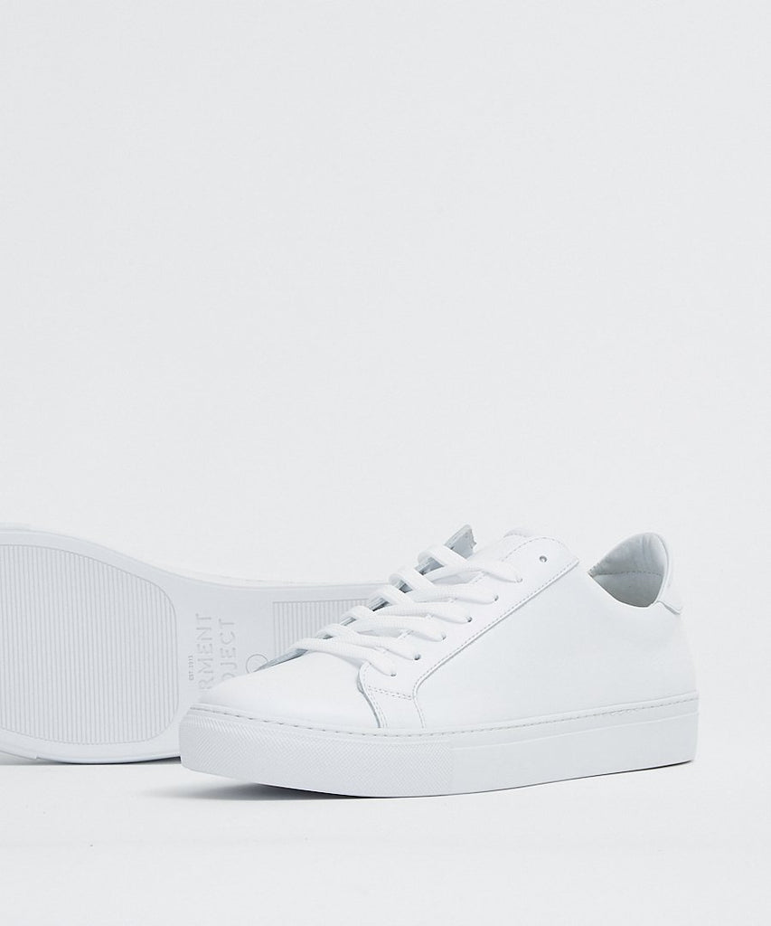 Type White Leather from Garment Project | sneakers | Packyard